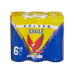 Golden Eagle Energy Drink (6 Dosen)